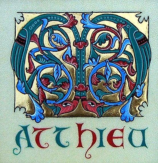 Mots En Lumière Calligraphie Et Enluminure Médiévale Pau